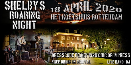 Shelby's Roaring 20's & 30's Night tickets