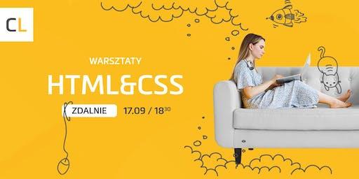 Warsztaty zdalne HTML & CSS od podstaw