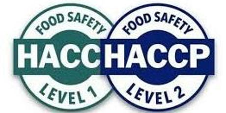 HACCP Certification Level 1 & 2 with Mary Wilcox Consultancy tickets