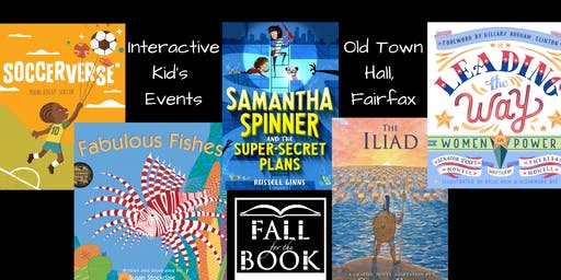 Interactive Kid's Events at Fall for the Book
