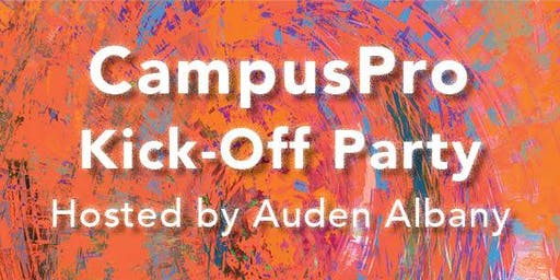 CampusPro Kick-Off Party hosted by Auden Albany