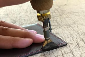 Refined Leather Working with Hermès Master Artisan - Evening Class (2019-12-17 starts at 6:00 PM)