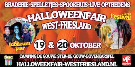 Halloweenfair West-Friesland Jubileum Editie tickets