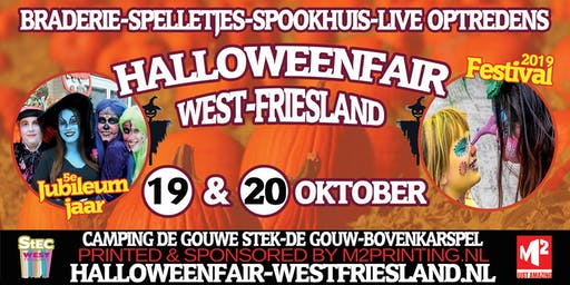 Halloweenfair West-Friesland Jubileum Editie