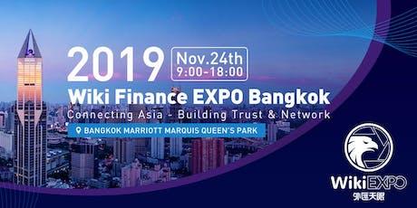 Wiki Finance EXPO Bangkok 2019 tickets