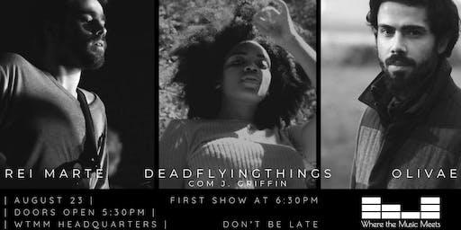 7th WtMM Balcony Show: Rei Marte + deadflytinghings w/ J. Griffin + Olivae