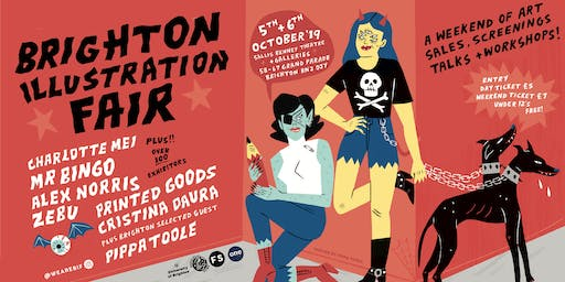 Brighton Illustration Fair 2019
