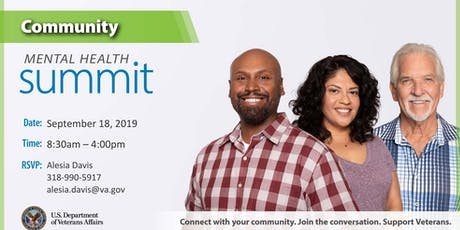 Overton Brooks VA Medical Center Community Mental Health Summit tickets