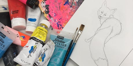 Create Your Own Colourful Artwork tickets