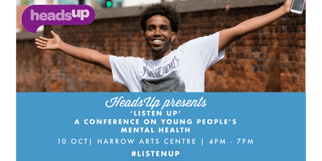'ListenUp': HeadsUp Young People's Mental Health Conference tickets