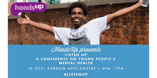 'ListenUp': HeadsUp Young People's Mental Health Conference