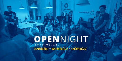 PERSON Open Night 2019
