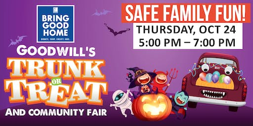 Goodwill's Trunk-or-Treat and Community Resource Fair!