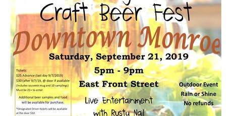 Michigan Craft Beer Fest tickets