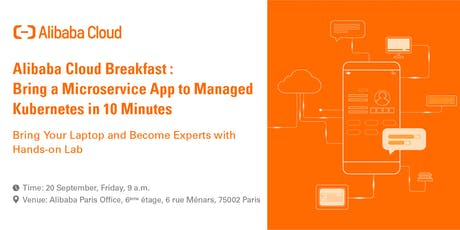 Bring a Microservice App to Managed Kubernetes in 10 Minutes! tickets