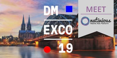 Meet Nativious at the DMEXCO 2018