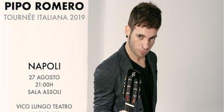 Pipo Romero Tournee Italiana 2019 biglietti