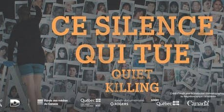Projection  - Ce silence qui tue // Screening - Quiet Killing billets