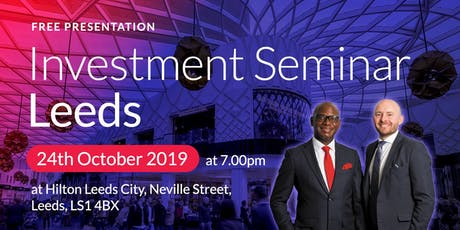 Leeds Investment Seminar on Buy2LetCars tickets