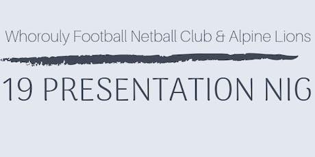 WFNC Presentation Night 2019 tickets