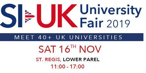 Want to study in UK? Come to the UK Education Fair in Mumbai. Free Entry