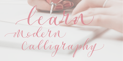Beginners Modern Calligraphy with ERA Calligraphy, Surbeanton, Surbiton
