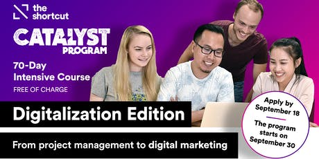Catalyst Program Info Session- Digitalization Edition  tickets
