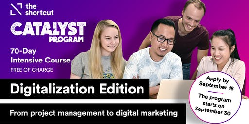 Catalyst Program Info Session- Digitalization Edition