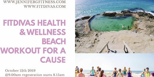Beach Yoga Fitness Charity Event
