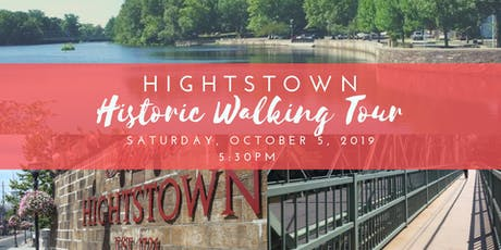Hightstown Historic Walking Tour - October 5 tickets