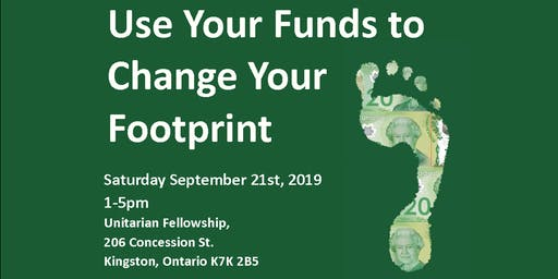 Use Your Funds to Change Your Footprint