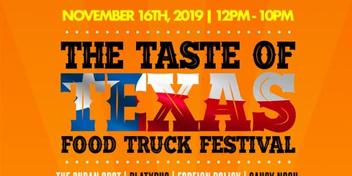 The Taste Of Texas Food Truck Festival