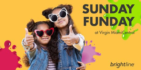 Brightline presents Sunday Funday at Virgin MiamiCentral tickets