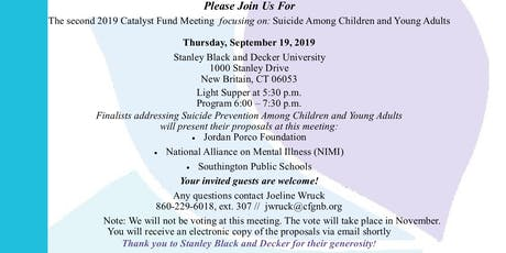 September 2019 Catalyst Fund Meeting tickets