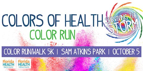 Colors of Health - Surviving the Storm Color Run/Walk 5k tickets