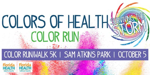 Colors of Health - Surviving the Storm Color Run/Walk 5k