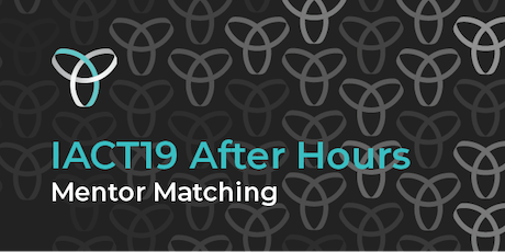 InnovationACT 2019: After Hours - Mentor Matching tickets