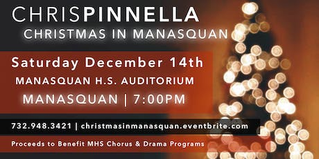 Christmas in Manasquan: Chris Pinnella tickets