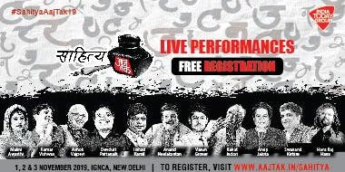 Sahitya Aaj Tak: India's biggest Hindi Literature fest
