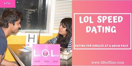 LOL Speed Dating HYD Oct 5 tickets