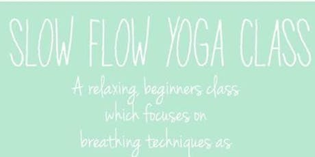 Slow Flow Yoga at Urban Vines! tickets