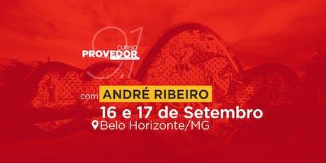 Curso Provedor 9.1 com André Ribeiro em Belo Horizonte - MG  ingressos