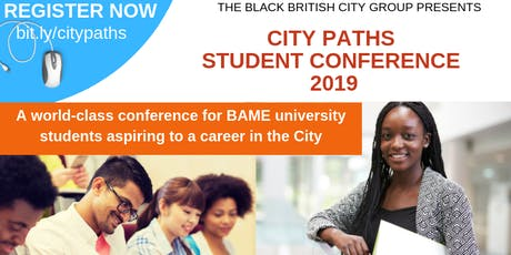 BBCG City Paths Student Conference 2019 tickets