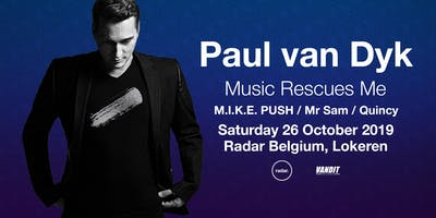PAUL VAN DYK in Lokeren x Music Rescues Me Album Tour