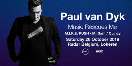 PAUL VAN DYK in Lokeren x Music Rescues Me Album Tour tickets