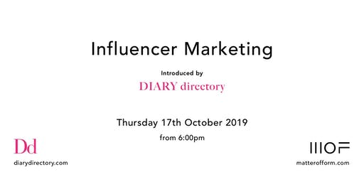 Influencer Marketing Event hosted by DIARY directory