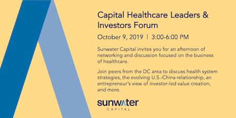 Capital Healthcare Leaders & Investors Forum tickets