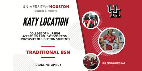 University of Houston College of Nursing Traditional BSN Information Session tickets