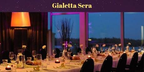 Gialetta Sera I Diner I Avondvullend programma Hou dat vakantiegevoel vast! tickets
