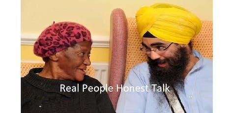 Real People Honest Talk - Accrington tickets